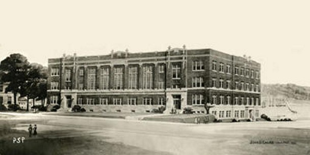 Historical photo of school